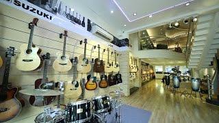 Khai trương showroom nhạc cụ lớn nhất Việt Nam Việt Thương 369 ĐBP
