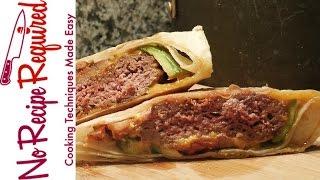 Oakland Raiders Taco Truck Burger - Nfl Burgers - Noreciperequired.com