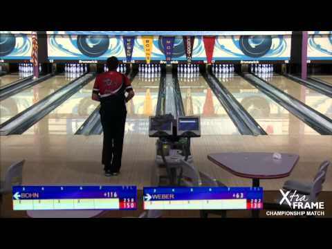 Pete Weber vs. Parker Bohn III for the 2015 PBA50 Treasure Island Resort & Casino Open Championship