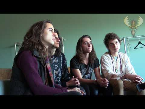Greta van Fleet meet Bluesmoose radio - interview @ Doornroosje, Nijmegen (NL) 20 march 2018