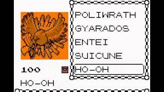 Pokemon Crystal/Gold/Silver Cheat Codes CPU/ANDROID/IOS ONLY