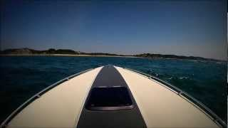 Boating on Lake Michigan with Huge Waves - GoPro - HD