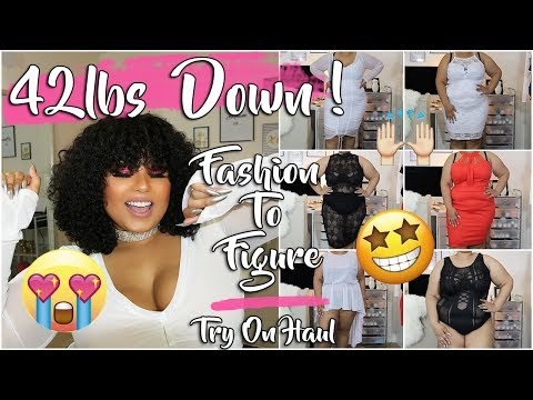 42 POUNDS DOWN CELEBRATION TRY ON HAUL !! FASHION TO FIGURE