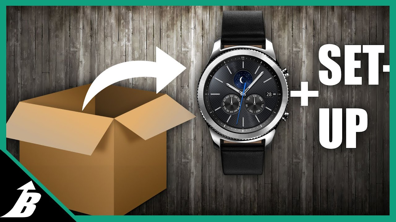 Samsung Gear S3 Unbox, And Review, And Setup(how to)