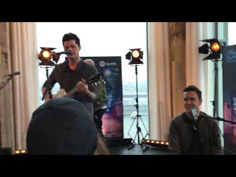 The Script - Rain (live acoustic) - promo event spotify Amsterdam 17/08/2017