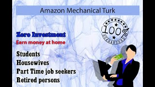 Amazon mechanical turk (mturk) is a crowdsourcing marketplace that makes it easier for individuals and businesses to outsource their processes jobs ...