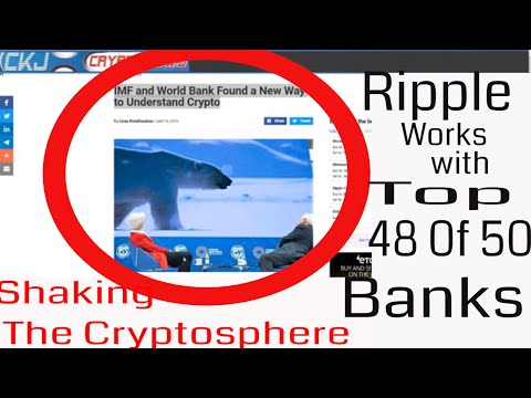 Ripple XRP GlobalPay Finastra Top 50 Banks. XRP R3. IMF and World Bank Shaking The Cryptosphere