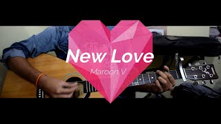 New Love - Maroon 5 Acoustic guitar cover Resimi