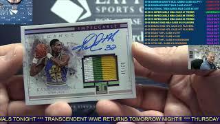2018/19 Panini Impeccable Basketball Hobby 3 Box Case Break #7 - TIERED RANDOM TEAMS