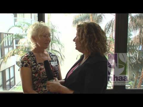 Roxanne Fagen a herbalist in health food shops. National Herbalists Association of Australia
