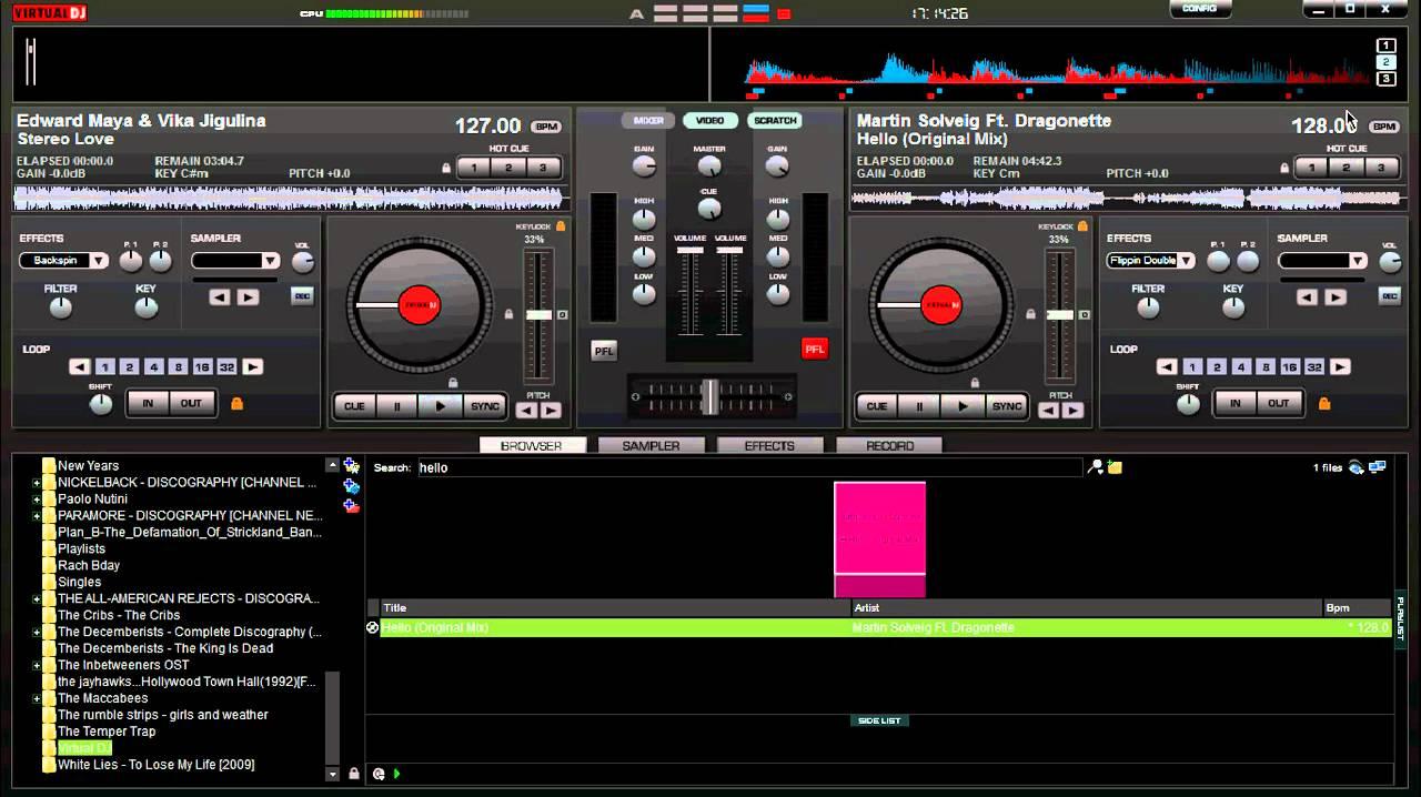 how to learn virtual dj mixing