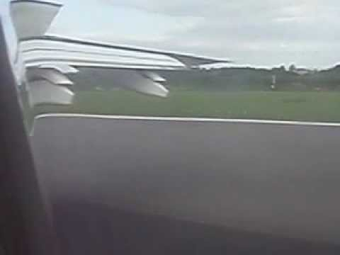 Landing in Luxembourg airport