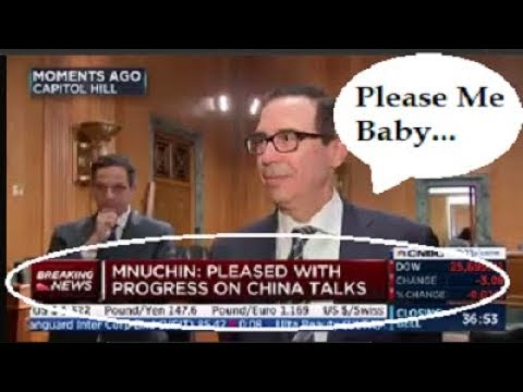"Post Market Wrap Up PLUS! Steve Mnuchin Is ""PLEASED."" By Gregory Mannarino"