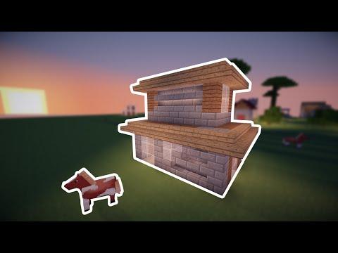 Как построить красивый дом в minecraft - Дом для выживания - Маленький красивый дом