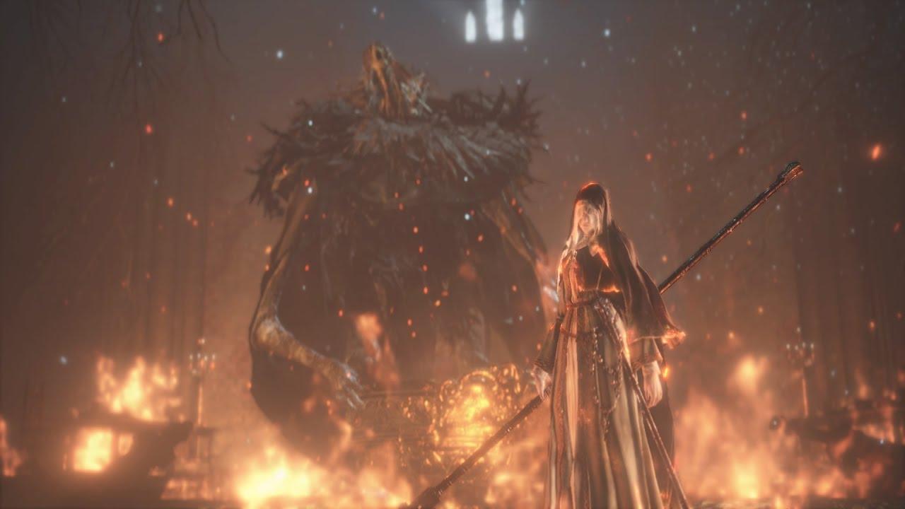 Dark Souls Iii Sister Friede Father Ariandel Blackflame Friede