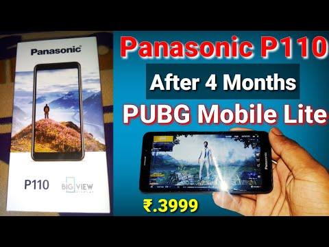 Panasonic p110 review after 4 months   PUBG MOBILE LITE performance test battery drop   Techno mit