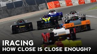 iRacing : How Close is Close Enough? (Spec Racer Ford @ Brands GP)
