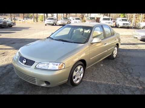 Short Takes 2003 Nissan Sentra Gxe (start Up, Engine, And
