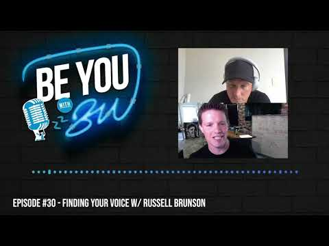 #030 Finding Your Voice w/ Russell Brunson