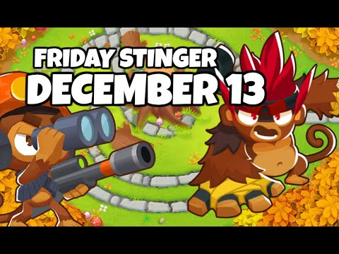 BTD6 Friday Stinger; What A Beautiful Map - December 13 2019