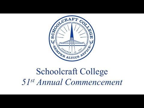 Schoolcraft College Annual Commencement 2016