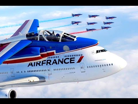 AIR FRANCE   MISSION ATHOS 747   VERSION COURTE
