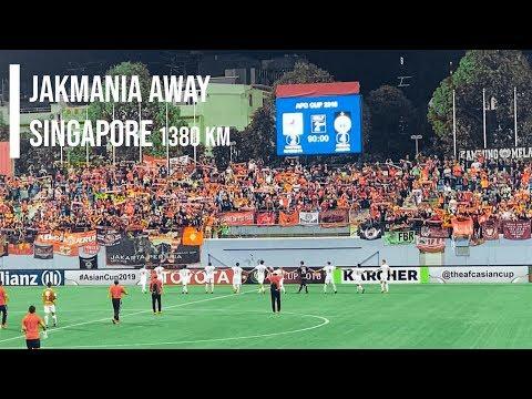 Tandang Rasa Kandang Bestday Awayday The Jakmania in Singapore | Tampines 2 - 4 Persija