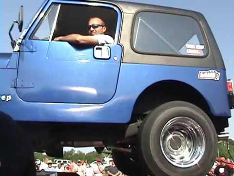 2009 Lane Automotive Car Show- Ben Cox 1987 Jeep CJ7 (350 Chevy Engine) Dyno run