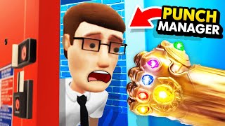 NEW Can The INFINITY GAUNTLET Punch The MANAGER? (Funny Hotel R'n'R VR Gameplay)