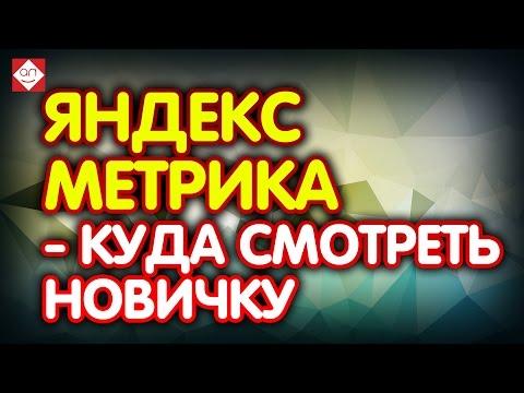 видео: Яндекс Метрика - куда смотреть новичку. Яндекс метрика для начинающих  Урок первый