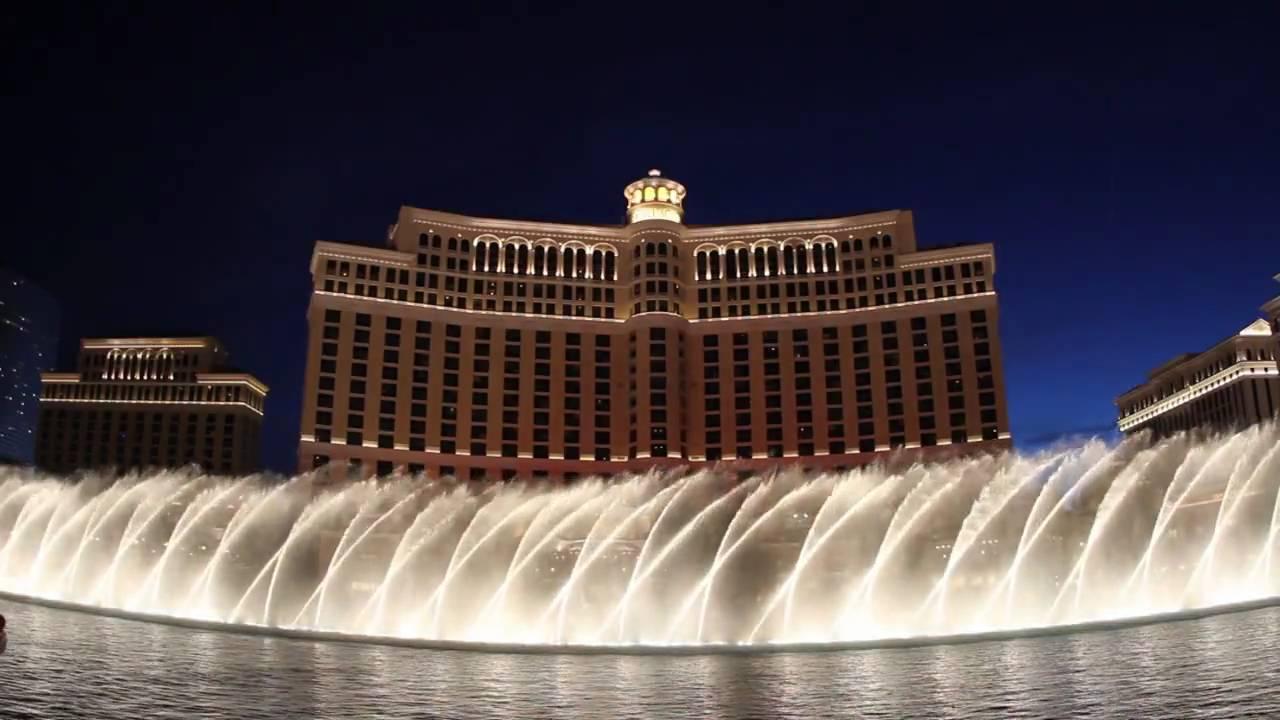 Bellagio fountain show las vegas titanic theme music for Las vegas fountain