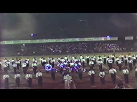 Anniston High School Band at Tarrant Contest-1980