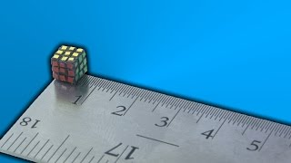World Record Smallest Rubik's Cube - Build - The One Cube