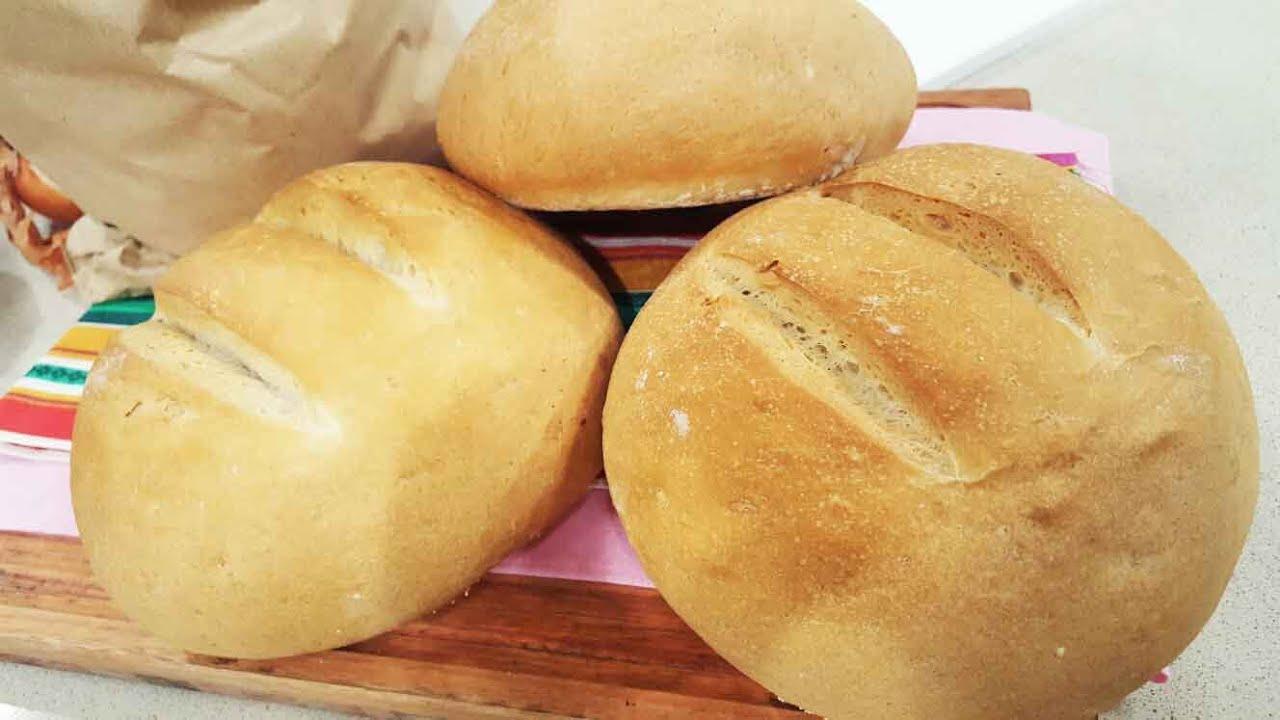 como se hace pan casero sin grasa