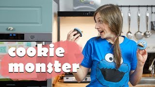 Cookie Monster Cupcake