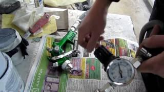 26☼ Як виставити тиск на краскопульте
