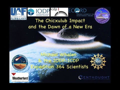 The Chicxulub Impact and Dawn of a New Era - Michael T Whalen