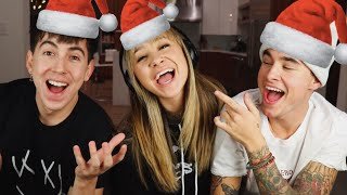 CHRISTMAS WHISPER CHALLENGE!! w/ BOBBY MARES & KIAN LAWLEY