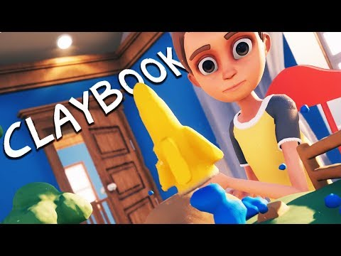 CLAY ROCKETS and CLAYMATION PUZZLES! - Claybook Gameplay