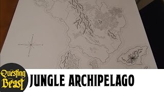 Jungle Archipelago: D&D Fantasy Map Showcase