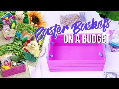 🐣 EASTER BASKETS DIY IDEAS ON A BUDGET 2019 | TODDLERS KIDS TEENS | SCCASTANEDA 🐰