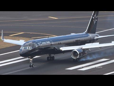 Majestic B757 All Black || TCS World Travel || Madeira