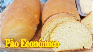 Pão Caseiro Econômico e Fácil
