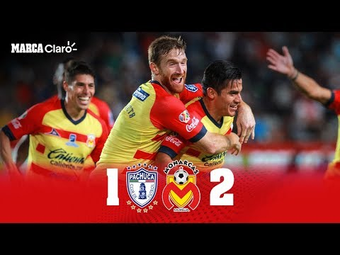 Tuzos de Pachuca 1-2 Monarcas Morelia | RESUMEN y GOLES | Jornada 3 Apertura 2019 | Liga MX