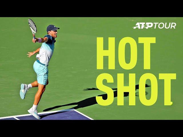 Hot Shot: Backhands Don't Get Much Better Than This From Thiem Indian Wells 2019