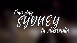 호주  - 시드니의 하루 | 시네마틱 여행 영상 | D…