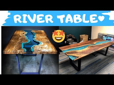 TOP 10 Most Amazing Epoxy Resin River Table