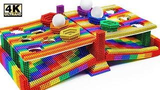 DIY-마그네틱 볼에서 탁구 배틀 게임을 만드는 방법 …