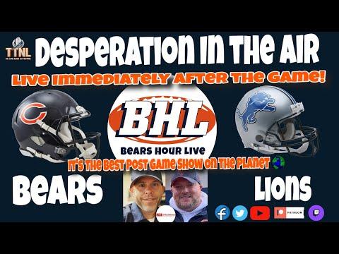 BHL Wk.13 Bears vs. Lions
