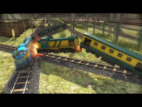 INDIAN TRAIN RACING GAME 3D #AndroidGameplay #Free Video Games Download #Games For Kids - 동영상